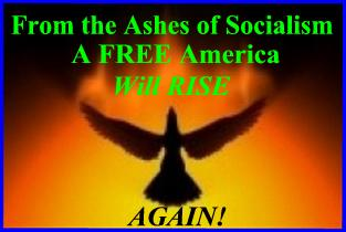 ASHES OF SOCIALISM ... AMERICA RISES