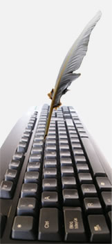 Quill and Keyboard
