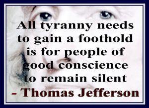 Tyranny -- Jefferon