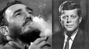 Castro and JFK