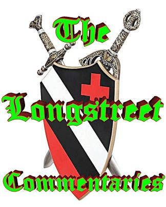 Longstreet Commentaries Logo with SWORD and SHIELD