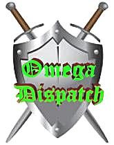 Omega Dispatch Sword and Shield Logo