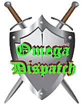 Omega Dispatch Sword and Shield Logo