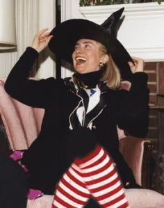 Hillary as Witch