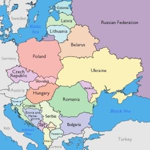 Eastern  Europe Map # 1